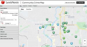 LexisNexis Community Crime Map