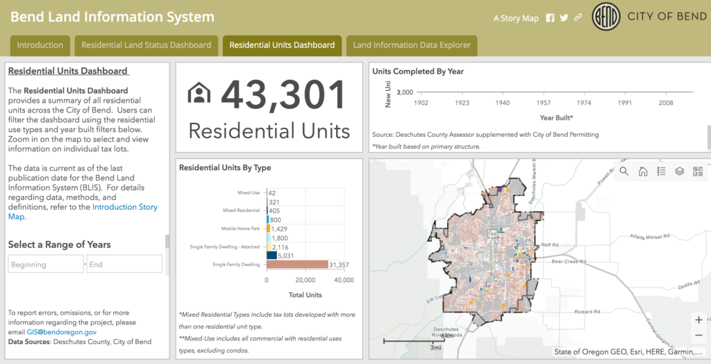 Bend Land Information System